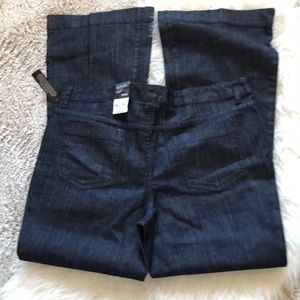a.n.a Jeans - a.n.a size 16 trouser jeans in dark wash